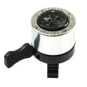 Bell84 silver compass bell