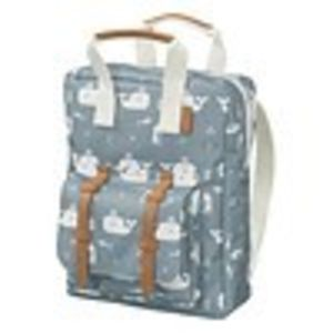 Fresk backpack small whale blue fog