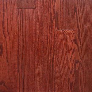 Uphill cherry red oak