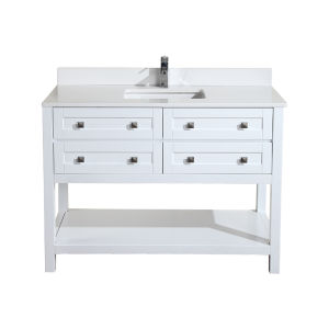 Lyon 48 vanity combo  white lg