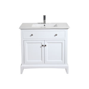 Hanover 36 vanity white combo lg
