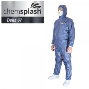 Chemsplash delta 67 coverall blue