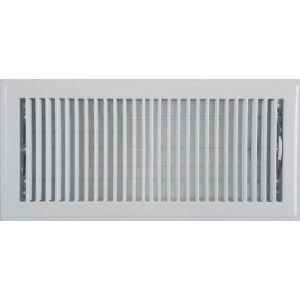 Metal floor grille
