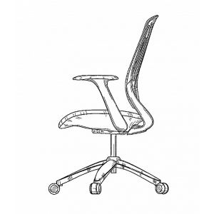 Office chair drawing 1 1581936106