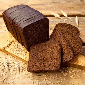 Black tin bread 600g sliced square 1582773947