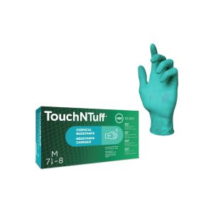 Exporta workwear ansell touchntuff 92 600 nitrile disposable gloves category iii en 4202003 a12009 box of 100 various sizes p1620 8487 image 1588161432