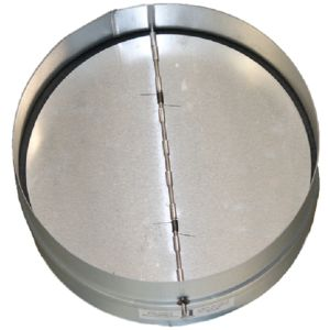 Backdraft damper metal 1588390737