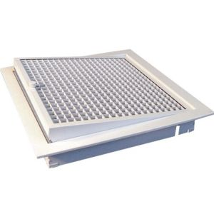 Egg crate grille hinged filtered 1601174109
