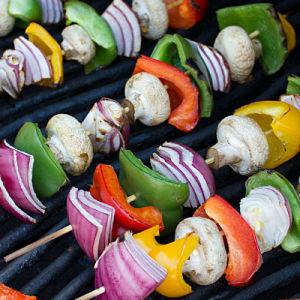 Grilled vegetable skewers 1601452341