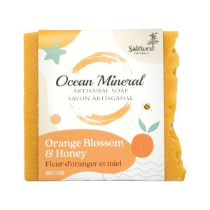 Orange blossom   honey soap 1602542988
