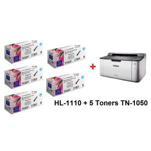 Bundle hl1110 et 5 toners 1622904425