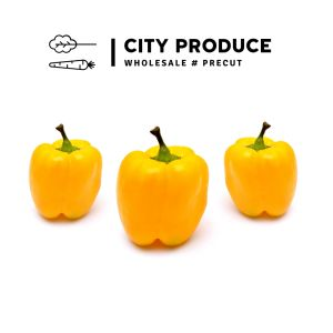 City produce yellow capsicums 1631575564