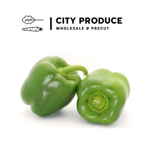 City produce green capsicums 1631575601