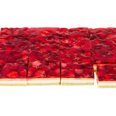 9203 strawberry cake 1800g 16pcs white 1619438234
