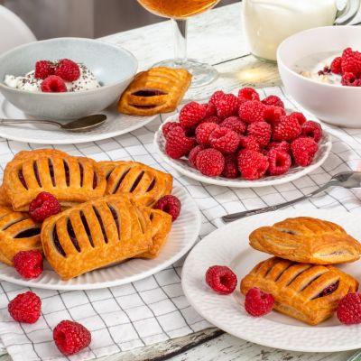 9146 mini raspberry pastry 40g breakfast 1621619650
