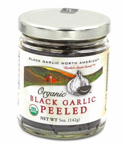 Peeled organic black garlic 5oz