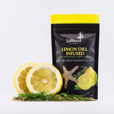 Saltwest lemon dill infused sea salt copy
