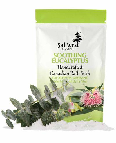 Saltwestsoothingeucalyptus bath soak