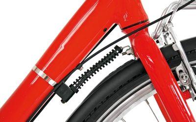Steering stabilizer in situ