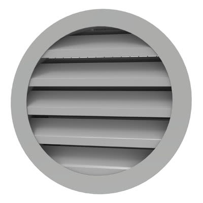 Round outside grilles