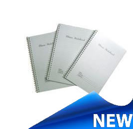 Note book spiral graph paper a6 1579099509