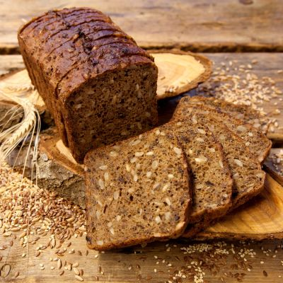 Different seed rye tin bread 650g  sliced 1582773949