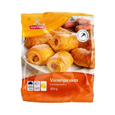9742 skjae viineripirukas 360g   retail sausage pastry 360g 1585670238