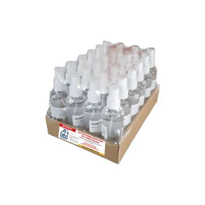 Exporta active hand sanitiser liquid spray 24 x 100ml individual spray bottles 70 alcohol base 550 each p1613 8494 image 1588159569