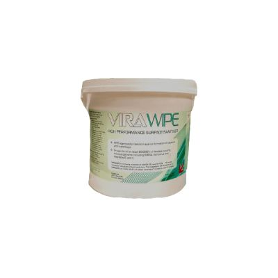 Exporta surface viral sanitiser wipes high performance tub of 225 wipes p1618 8462 image 1588160665