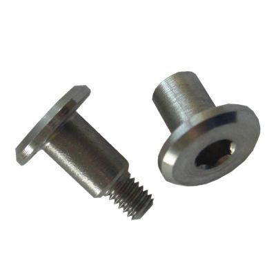 Bmd75 milled fork bracket silver  1620600325