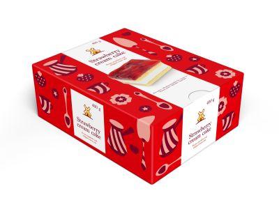 Strawberry cream cake 400g 1626211815