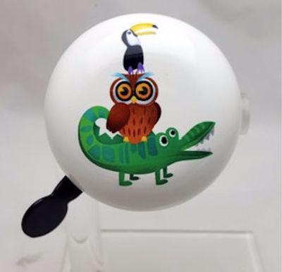 Bell192 crocodile  owl   birdie ding dong 1631523389