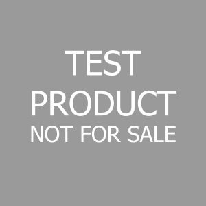 Test product not for sale
