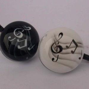 Bell64 airbrush music white bell