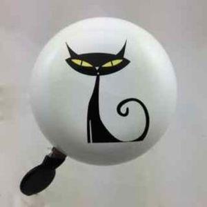 Bell53 black cat ding dong bell