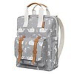 Fresk backpack small whale dawn grey