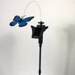 Butterfly solar stand