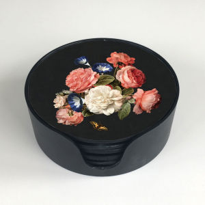 Flowers coaster