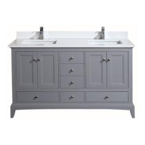 Hanover 60 vanity spanish gray combo lg