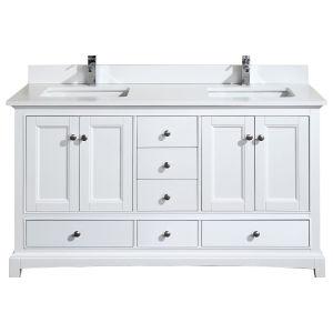 Hanover 60 vanity white combo lg