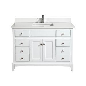 Hanover 48 vanity white combo lg