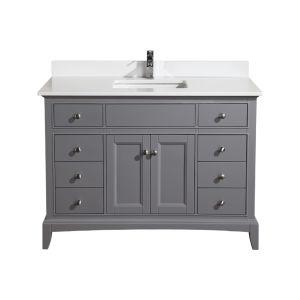 Hanover 48 vanity spanish gray combo lg