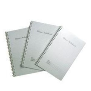 Note book spiral graph paper a5 copy large