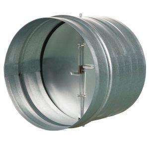 Backdraft damper metal