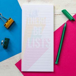 Bettie confetti lists notepads  20