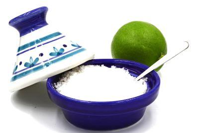 Tagine with salt