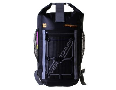 Waterproof backpack 20 litre pro light front ob1135blk