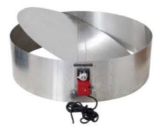 Industrial Vent Damper 900Ø (Rotary Ventilators) - Airflow