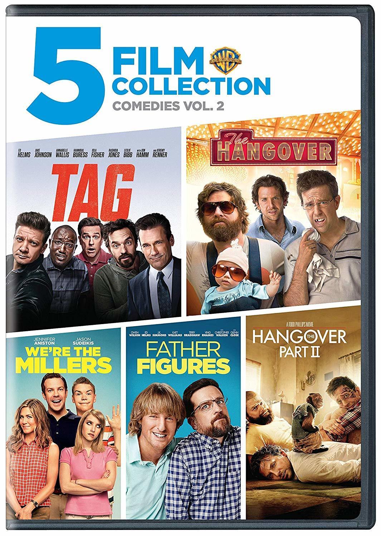 5 Film Collection Comedies Vol 2 Dvd Warner Bros