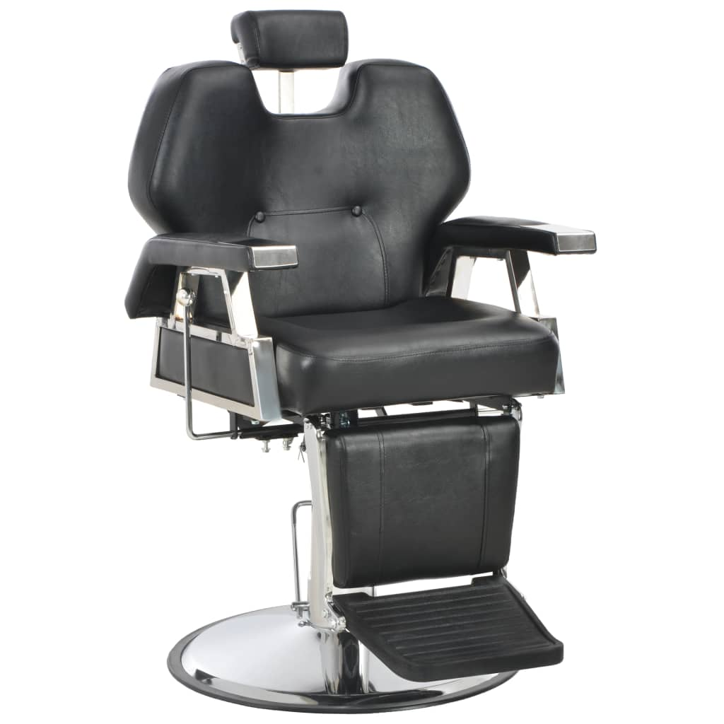 Astonishing Vidaxl 110167 Barber Chair Black 72X68X98 Cm Faux Leather Gmtry Best Dining Table And Chair Ideas Images Gmtryco